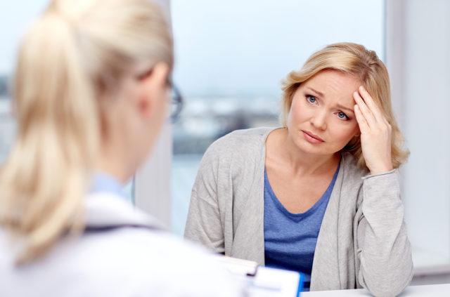 Как себя ведет доброкачественная опухоль при менопаузе?