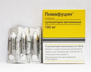 Пимафуцин — можно ли пользоваться свечами при месячных